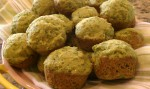 Spinach Cake Mini Muffins